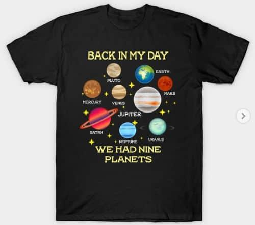 9 Planets T Shirt