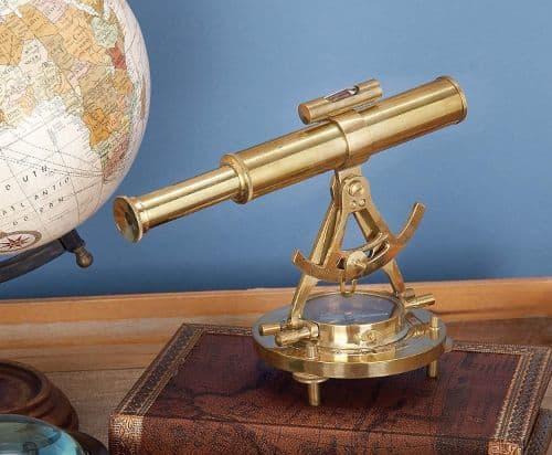 Brass Telescope Décor
