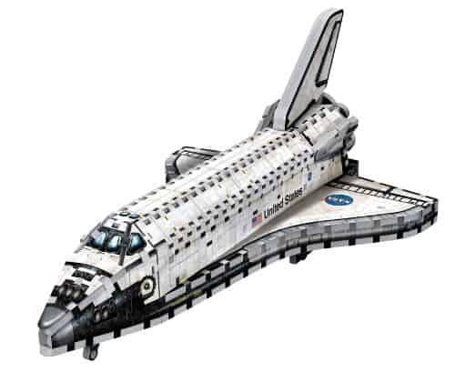 Nasa Space Shuttle Orbiter Wrebbit 3d Jigsaw Puzzle