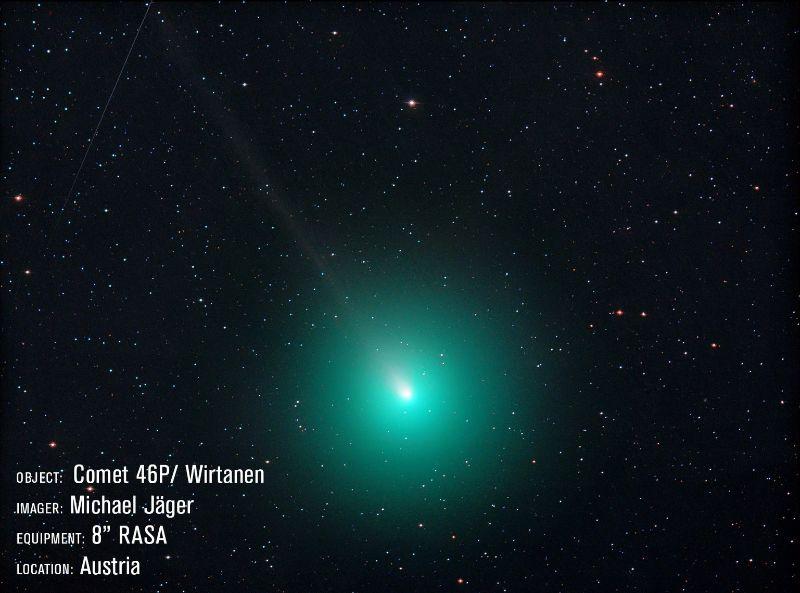 Comet Taken With 8inch Rasa Telescope