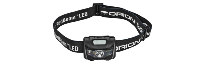 Orion Redbeam Motion Sensing Headlamp